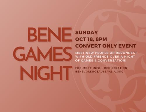 Bene Games Night